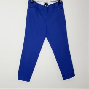 TALBOTS Hampshire ankle blue pants. Petite